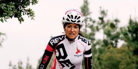 This Grandmother Climbed Alpe d'Huez Eight Times in One Day.