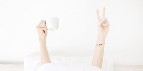 morning habits coffee peace meditation