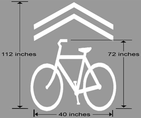 What Are Sharrows Good For Our Guide To The Notorious Shared Lane