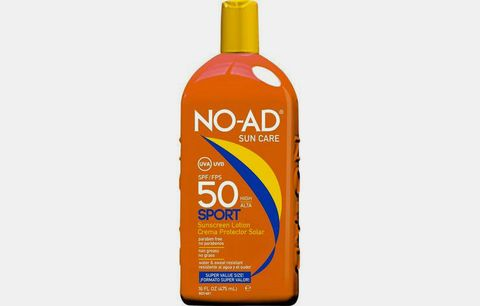 No-Ad Sun Care Sport Sunscreen Lotion.