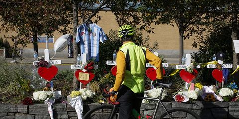NYC BIke Lane Attack Memorial