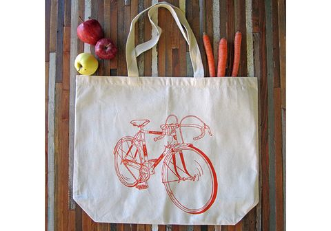 Oh Little Rabbit Bike Tote Bag