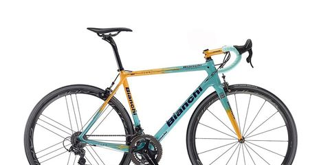 The new Bianchi Specialissima Pantani 20th anniversary