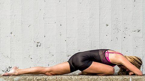 Yoga for cyclists Pigeon Pose