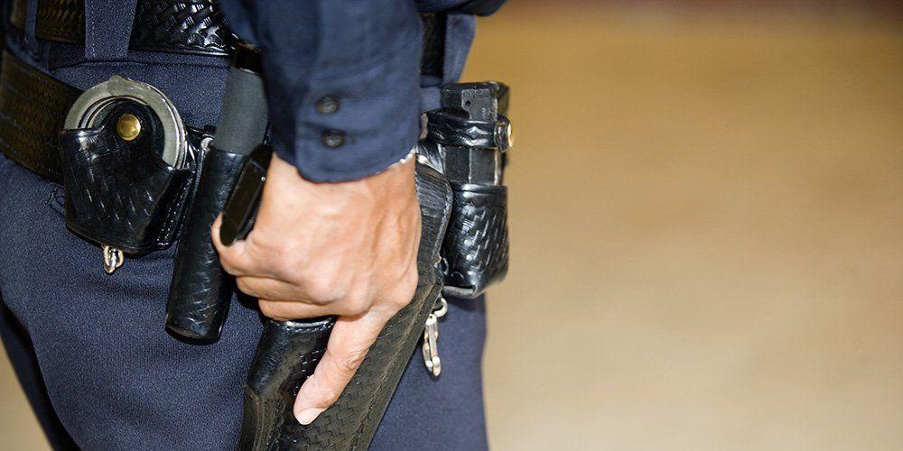 Police Gun Belt
