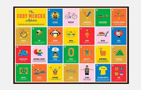 eddy merckx alphabet