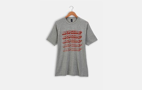 bicycling tee