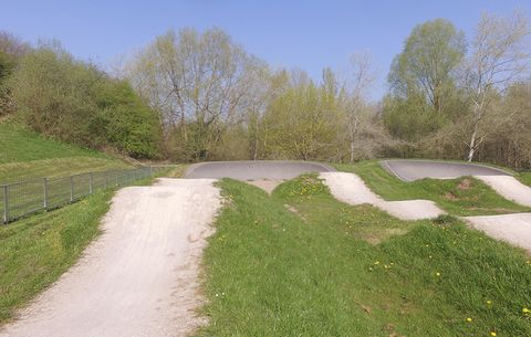 Pump Track Breaks.