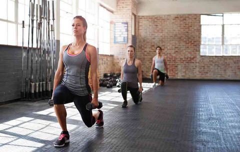 Quad Exercise: Walking Lungs