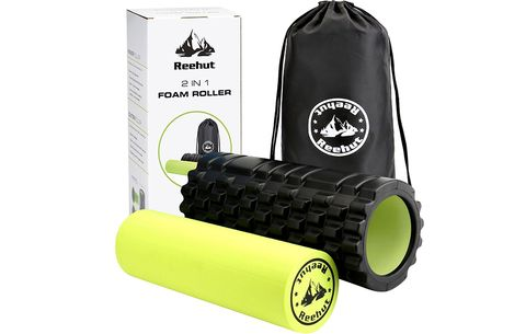 Reehut 2-in-1 Foam Roller