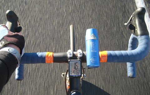 Road bike handlebars.