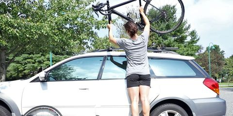 Roof racks are out of reach