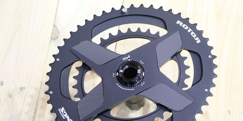 Rotor's New Aldhu 3D+ Cranks and Spidering