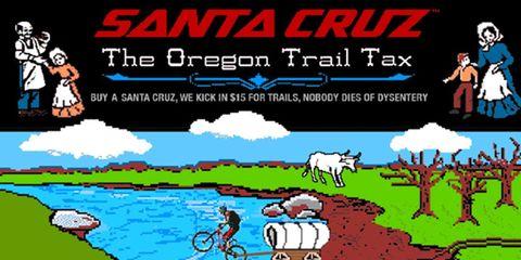 Santa Cruz Bicycles Oregon Trail Tax Program