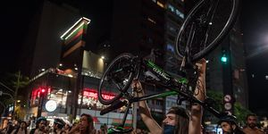 Sao Paulo World Naked Bike Ride
