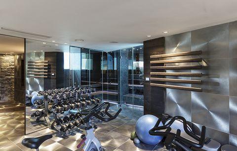 fancy gym