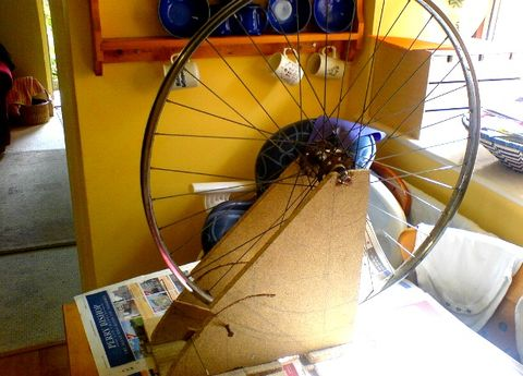 Spoke, Varnish, Bicycle wheel rim,