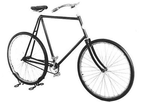 Bicycle frame, Bicycle tire, Bicycle wheel rim, Bicycle wheel, Bicycle fork, Bicycle part, Bicycles--Equipment and supplies, Bicycle handlebar, Spoke, Bicycle stem,