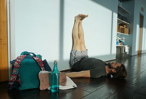 5 essential yoga poses for men  bicycling