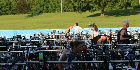 Ironman 70.3 Syracuse Age Grouper DQed for Bike Tampering.