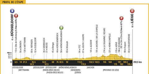 Tour de France, 2017, Stage 2