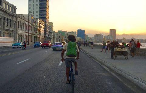riding in cuba