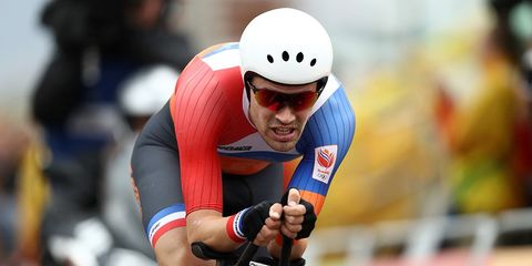 Tom Dumoulin Beats Chris Froome at Road World