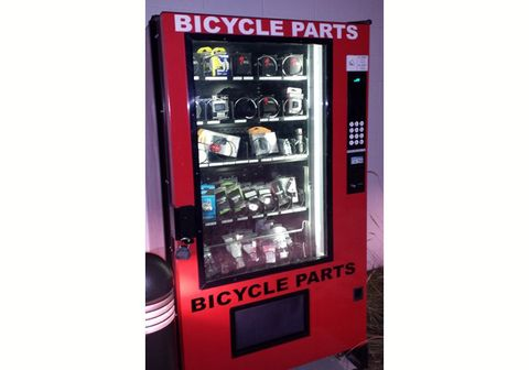 Tom's Pro Bike Vending Machine