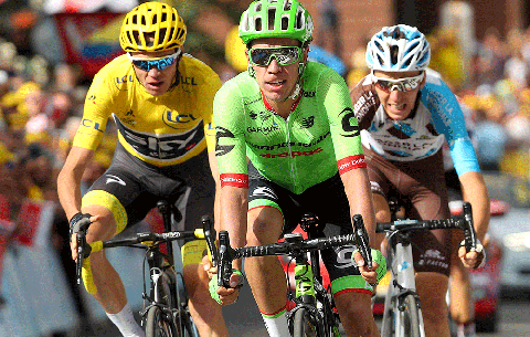 could rigoberto uran beat chris froome