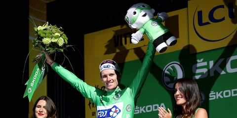 The 2017 Tour de France's Green Jersey Competition is Wide Open Now.