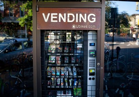 7 Cool Cycling Vending Machines Bicycling