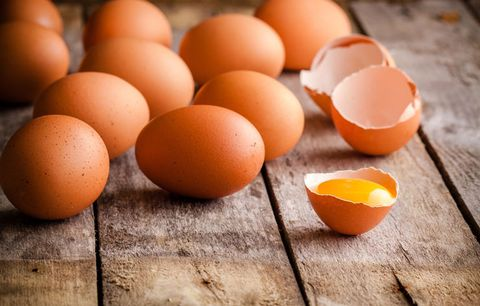 Food with Vitamin D: eggs