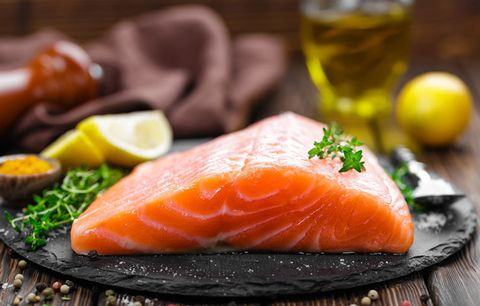 Food with vitamin d: Salmon