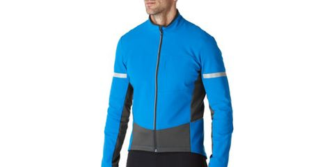 Clothing, Jacket, Sleeve, Turquoise, Jersey, Electric blue, Cobalt blue, Outerwear, Sportswear, Teal,