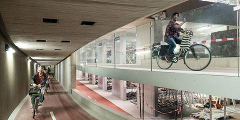 utrecht bike parking garage