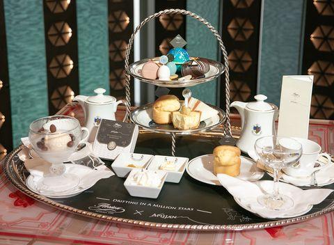 Porcelain, Tableware, Brunch, Table, Tea set, Tea party, Meal, Saucer, Serveware, Household silver,