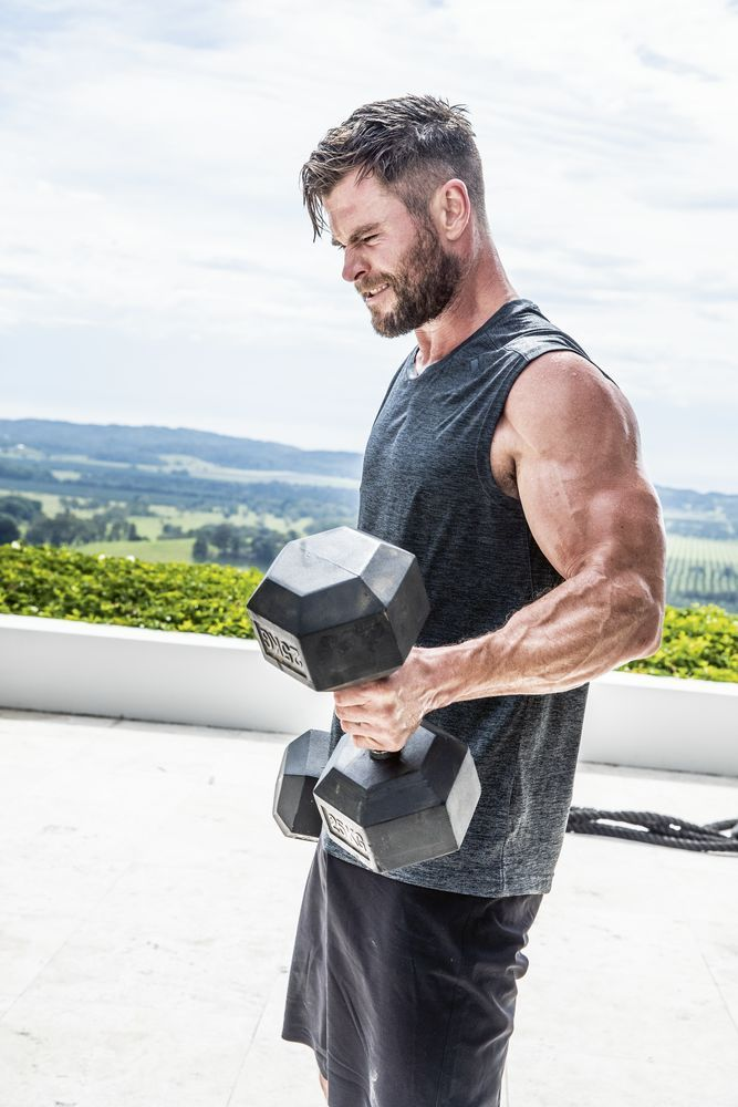 Chris Hemsworth Wants Everyone to Do This 9-Minute Bodyweight CrossFit Challenge