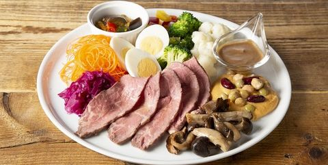 Dish, Food, Cuisine, Ingredient, Meat, Produce, Brunch, Samgyeopsal, Bacon and cabbage, Meal,