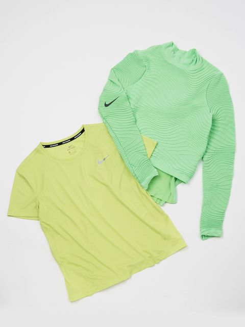 Clothing, Sleeve, Green, Yellow, T-shirt, Product, Outerwear, Sweater, Top, Long-sleeved t-shirt,