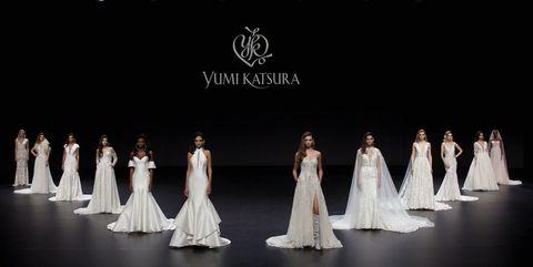 ウエディング・ドレスの世界最大級のイベントである、ヴァルモン バルセロナ ブライダル ファッション ウィーク のユミカツラのコレクション