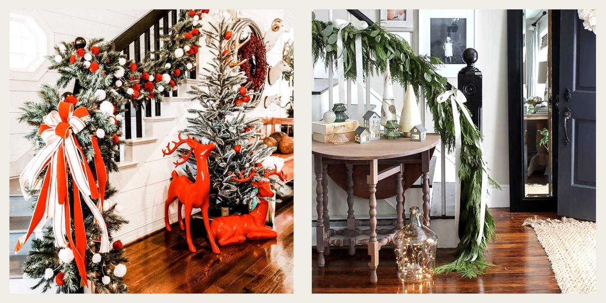 How to Totally Transform Your Staircase for Christmas