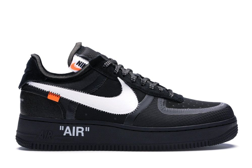 air force 1 nere e arancioni