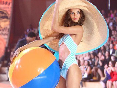 Clothing, Beauty, Blond, Lingerie, Thigh, Bikini, Leg, Model, Sportswear, Undergarment,