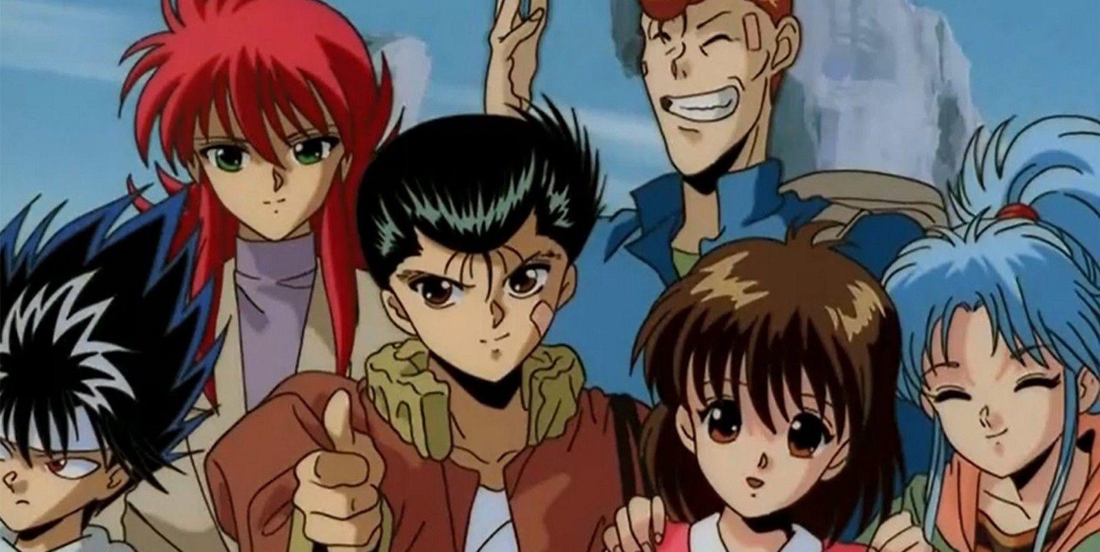 10 anime 90 remake yu yu hakusho