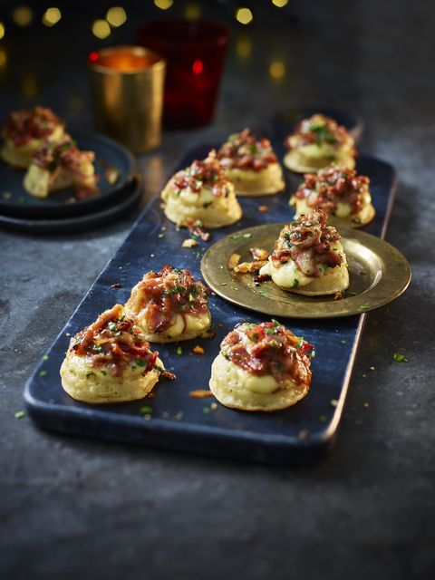 10 Collection Ham Hock Rarebit Mini Crumpets