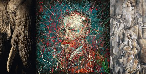 Art, Modern art, Painting, Visual arts, Acrylic paint, Textile, Illustration, Paint, Graffiti,