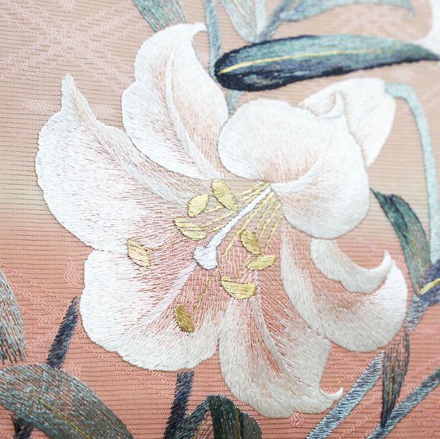 池田由紀子 時代布と時代衣裳池田 刺繍帯