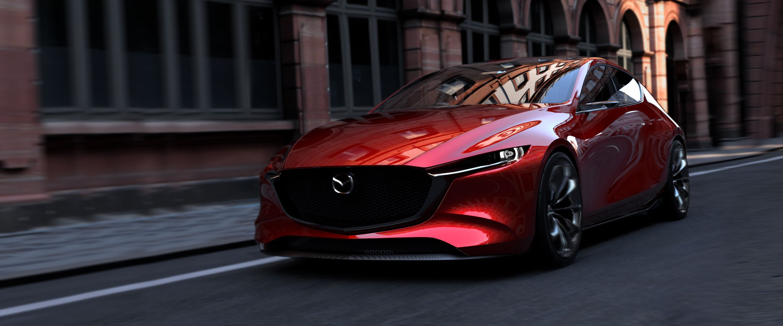 mazda kai concept - 2020 mazda 3 hatchback previewed at tokyo motor show