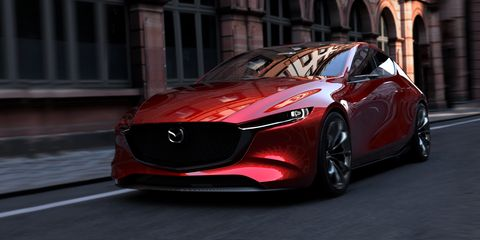 Mazda Kai Concept 2020 Mazda 3 Hatchback Previewed At