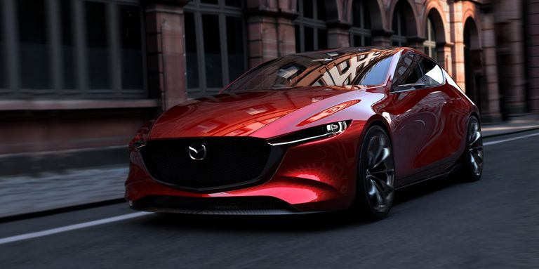 Mazda Kai Concept - 2020 Mazda 3 Hatchback Previewed at Tokyo Motor